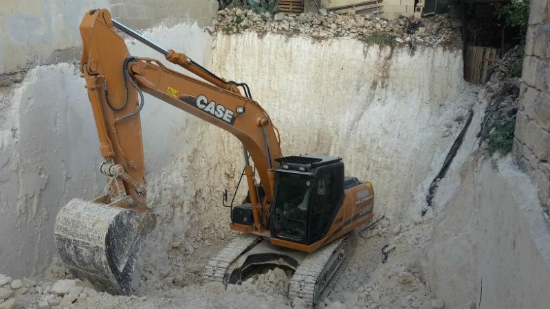 basement excavation works